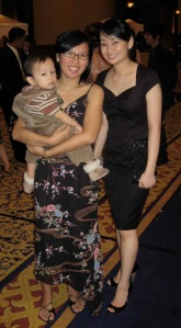 bhumy, me and vina @ andrey's wedding